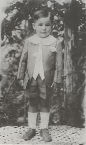 Fidel niño en Birán 1929